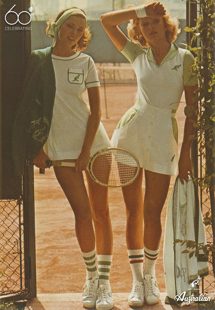 Matching style and comfort since 1956 #tennis #Celebrating60s