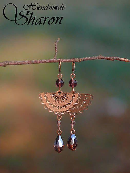 Sharon.handmade / Orientálne medeno-fialové