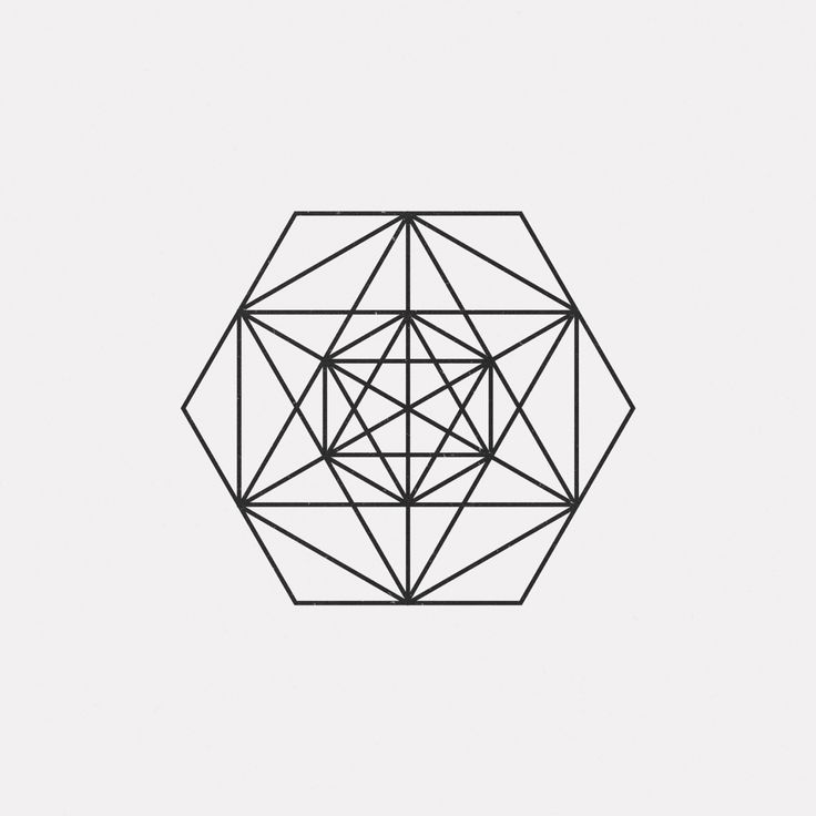 Best geometric patterns images on pinterest