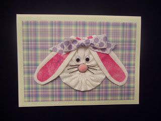 dClarkCreations: Easter Cards ... another cutie patootie eye candy!   #YoYo  #SuffolkPuffs