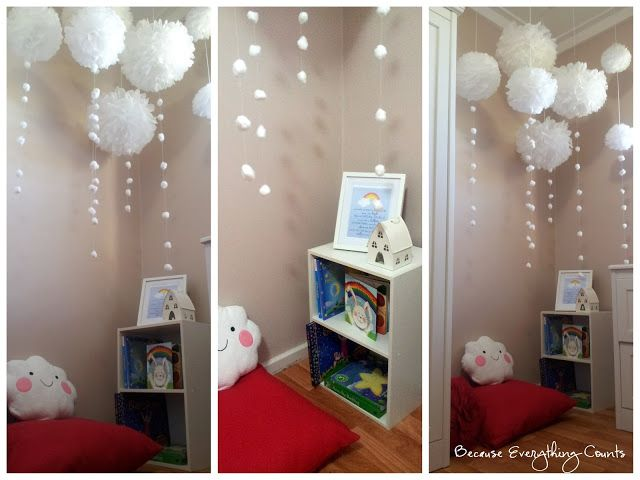 Miss M's new reading corner