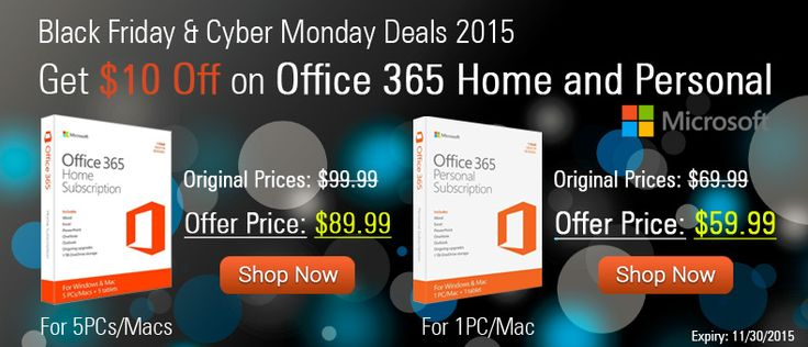 Office 365 Office 2016 Office 365 Personal Office 365 Black Friday Cyber Monday