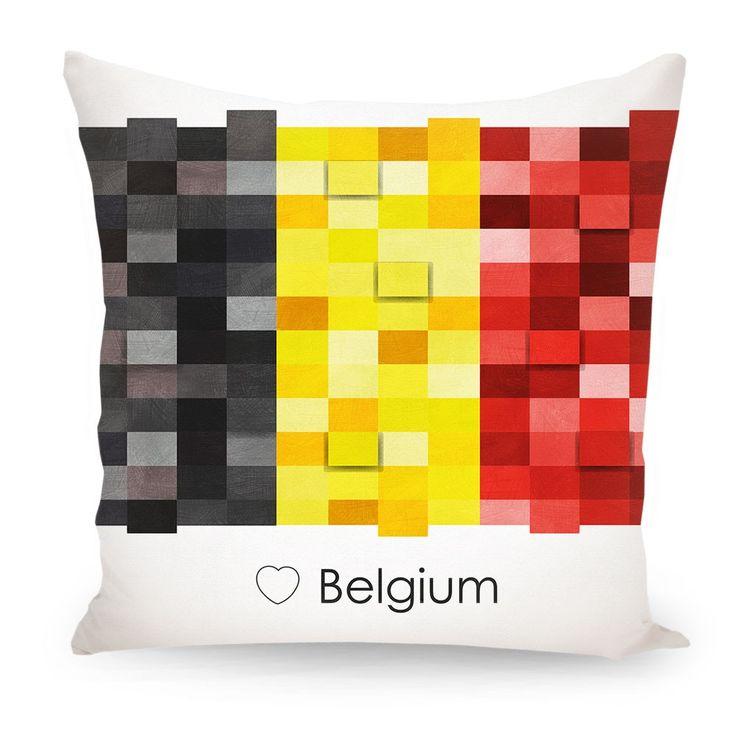 Pillow Belgium flag, Europe
