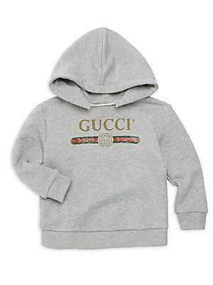 f6ef042bb Gucci - Baby Girl's Logo Sweatshirt | baby boy fashion | Gucci baby ...