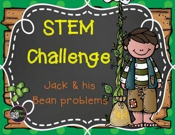 A Jack and the Beanstalk unit - STEM style!In this mini-unit, you get:Bean investigation journal printablesMeasuring Jack printablesSTEM Engineering Challenge - Golden Egg ProtectorsBeanstalk Battles - a tally mark gameTechnology Suggestions - links includedMoney Bags - counting the Giant's moneyBean Sorting printables
