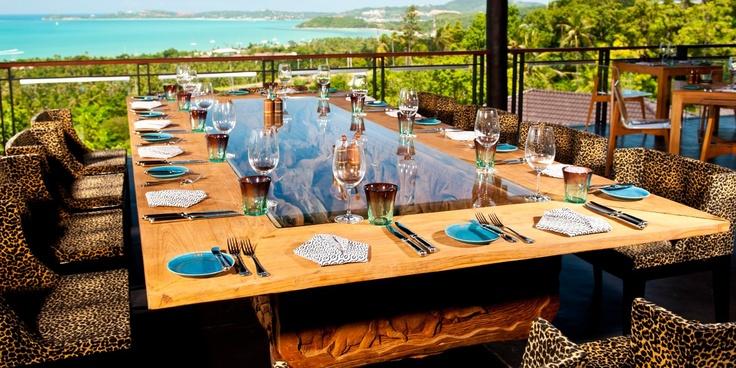 The open-air restaurant Ubuntu #JetsetterCurator