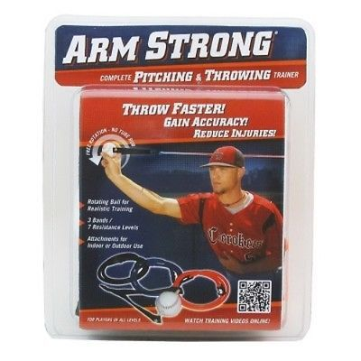 Baseball Training Aid Pitching Throwing Arm Condition Trainer Warm Up Bands Ball