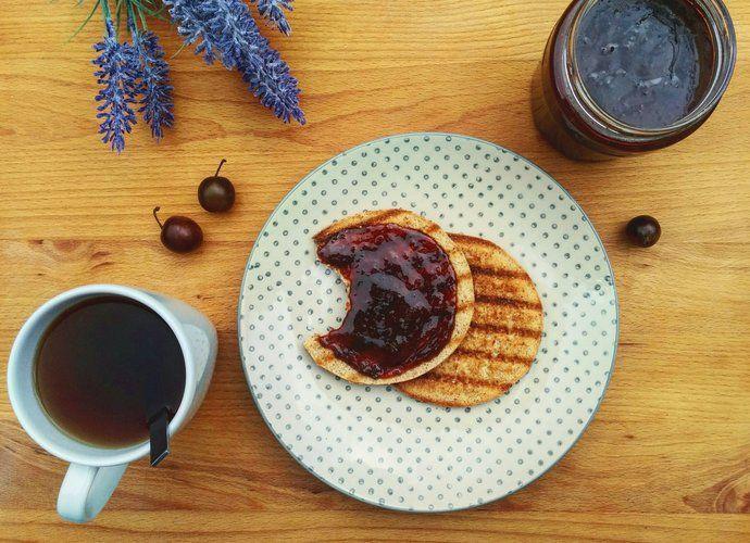 Mermelada de ciruela roja y canela para #Mycook http://www.mycook.es/cocina/receta/mermelada-de-ciruela-roja-y-canela