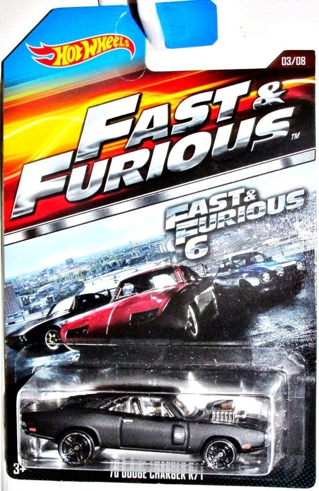 Hot Wheels 70 Dodge Charger Fast And Furious Little