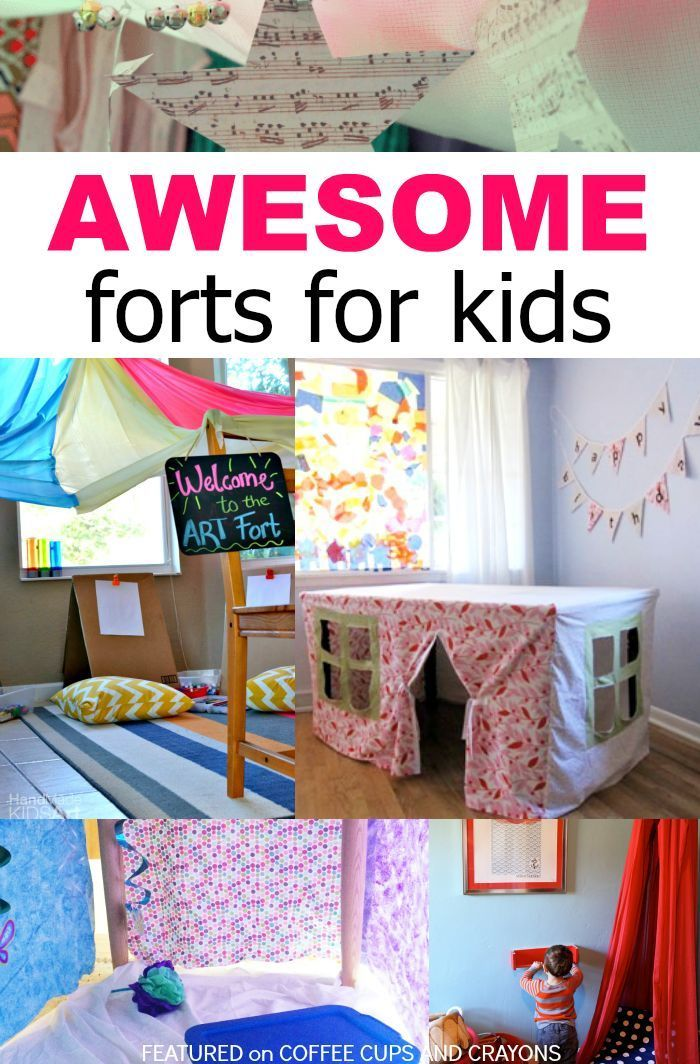 Awesome Forts for Kids! A Childhood Must Do!