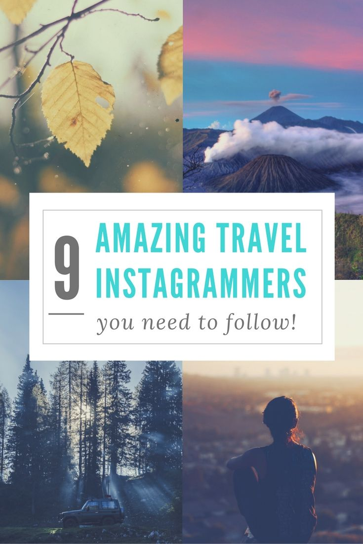 Need inspiration for your next journey across the globe? We know you're sure to be inspired from these awesome travel Instagrammers! Check them out! Chelsea Live Wanderfully Well, that'…