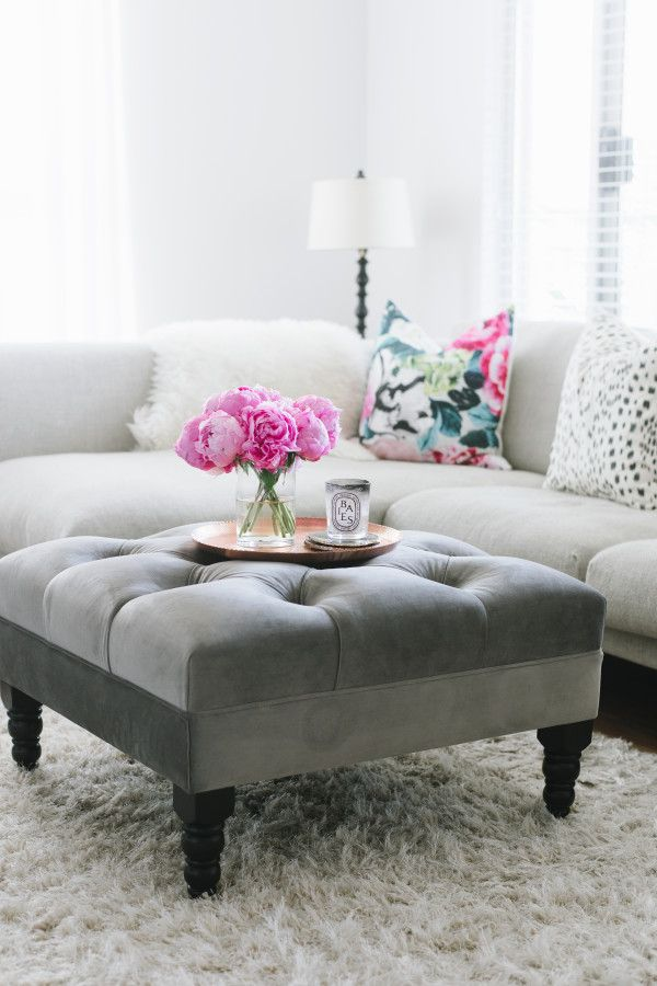25 Best Ideas About Ottoman Decor On Pinterest Couch