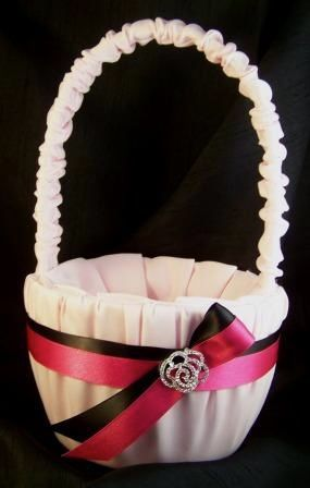 our flower girl basket, will be purple and blue :)