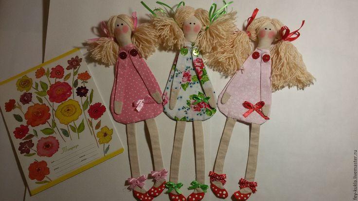 Купить Закладка для книг. Кукла -закладка - розовый, закладка для книги, закладка, закладка для ежедневника