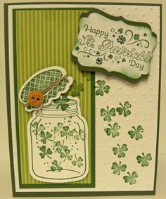 St. Patrick's Day by lindathecreator - Cards and Paper Crafts at Splitcoaststampers