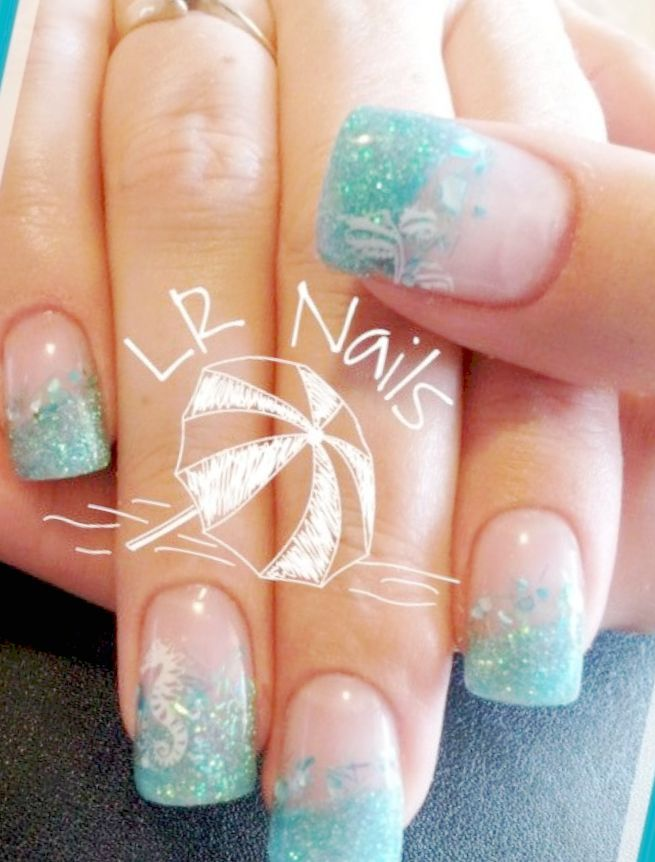 Nail Designs For Beach Vacation Amazing Nails Design Ideas Vacation Nails Nail Designs Fun Nails