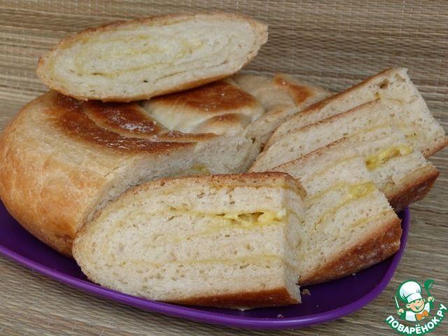 Хлеб с чесноком и сыром ингредиенты