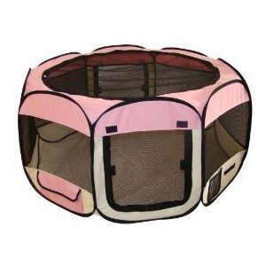 Doggy play pen. Getting this for my Yorkie girls for camping this summer! Omg would love it!!