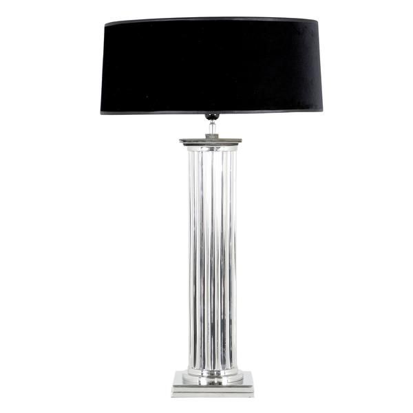 Brighten up any room with this Eichholtz silver table lamp. Find more lighting products, like floor lamps and chandeliers, online at oroa.com