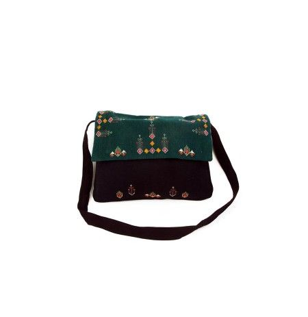 Suf Embroidery Laptop Cum SHoulder Bag