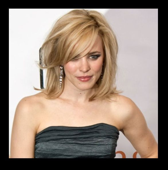 Shoulder-length Hair With Side Swept Bangs