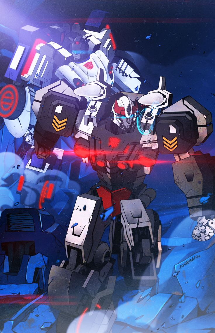 Transformers - Jazz and Prowl