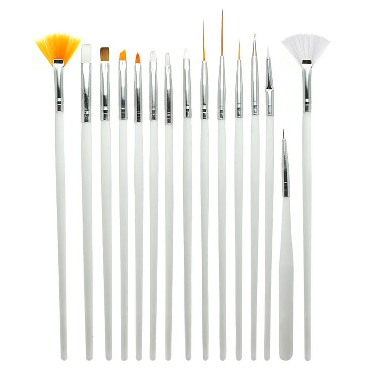 15pcs/SET Nail Art Design Brush Gel Painting Pen Nail Brush,Nail Tool ,Professional Nail Equipment Drawing Tool