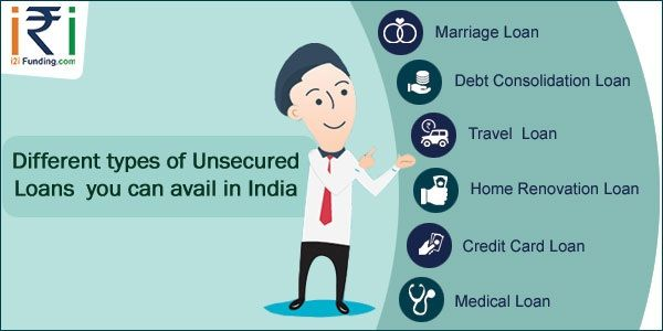 Different Types Of Unsecured Loans You Can Avail In India Http Ccff128 Com Different Types Of Unsecured Loa With Images Credit Card Loans Medical Loans Personal Loans