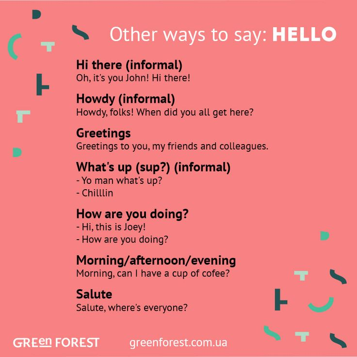 Synonyms to the word HELLO. Other ways to say HELLO. Синонимы к английскому слову HELLO.