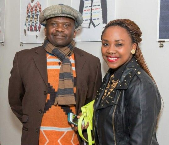 Dr. Andile Bovungana & daughter.   Photo by: Ntsika Tyatya