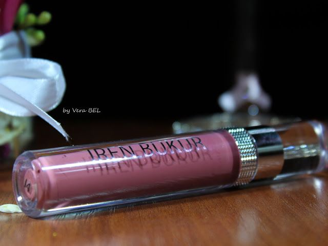 Жидкая помада для губ Iren Bukur в оттенке #14. Обзор, отзыв, свотчи.