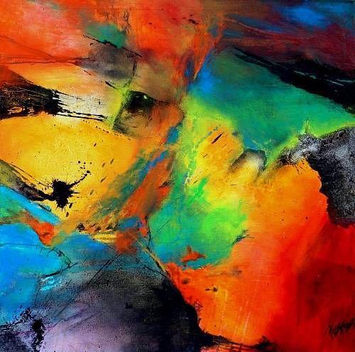 """Agnes Lang, """"Heliotrop"""" Mit einem Klick auf 'Als Kunstkarte versenden' versenden Sie kostenlos dieses Werk Ihren Freunden und Bekannten."""
