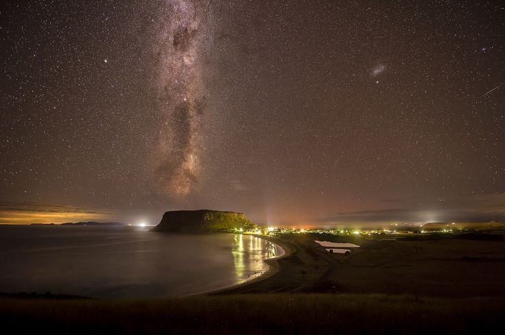 Starry nights at Stanley Tasmania