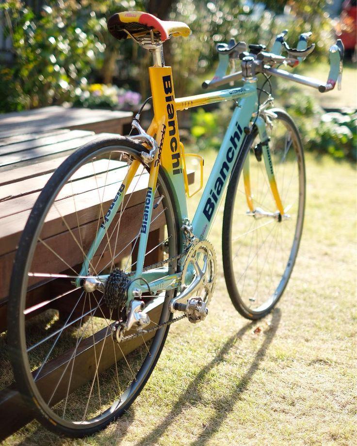"297 Likes, 28 Comments - Seiki Suganuma (@sugar_w_love) on Instagram: ""僕の#TTバイク #continental を新調しました〜 昔の#ロードレーサー ってクリアランスがギリギリなんですね… 前は#vittoria proteam open corse cx…"""