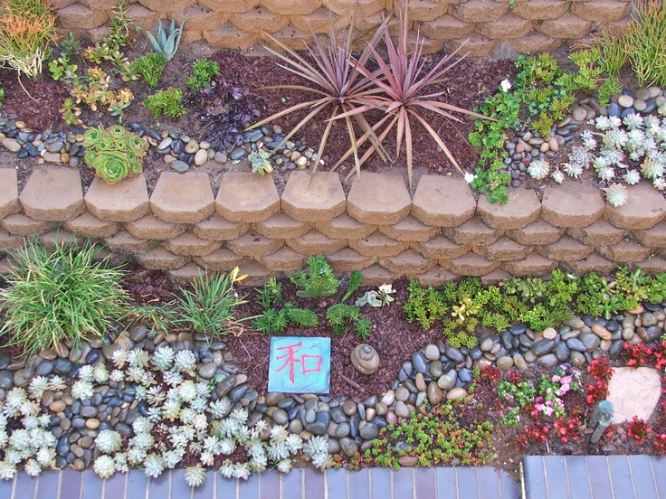 103 best images about drought tolerant landscaping on for Smooth landscaping rocks