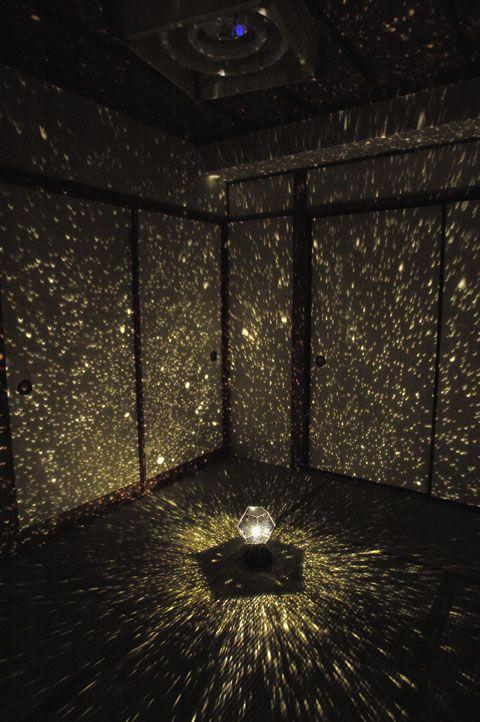 DIY Romantic Star Projector really just so cute