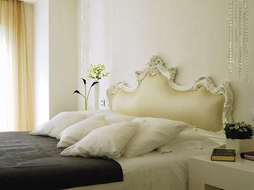 Pretty French Headboard  169 So Cool Headboard Ideas That You Won't Need More | Shelterness