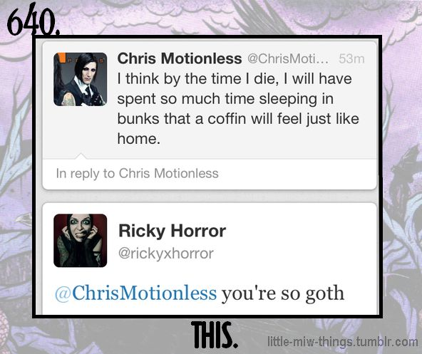 This Little Motionless In White Things~ Ricky How I love you  <3