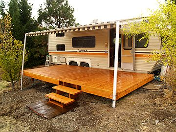 16 Best Deck For Rv Images On Pinterest Campers Caravan