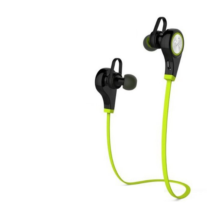 NEW Q9 Bluetooth Headphones, Bluetooth Earbuds V4.1 Wireless Sports Headphones Sweatproof Running Gym Stereo Headsets / for iPhone 6s 6s plus Galaxy S7 Edge S6 and Android Phone£¬Green£¨8 PCS). Latest Q9 Bluetooth 4.1and CSR 8645 Chipset strengthen the signal 2 times, easy and fast pairing with phones, ipad.With APT-X audio decode technology,Powerful audio driver offers balanced audio and crystal clear sounds. Comfortable stable Earbuds: Portable and Lightweight Bluetooth…