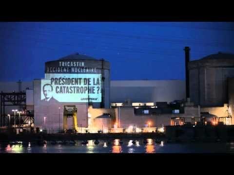L'action de Greenpeace dans la centrale nucléaire du Tricastin (version intégrale)
