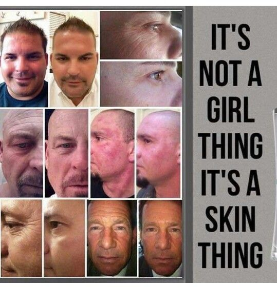Men need to take care of their skin too. Try risk free today.  www.Dhassa.nerium.com