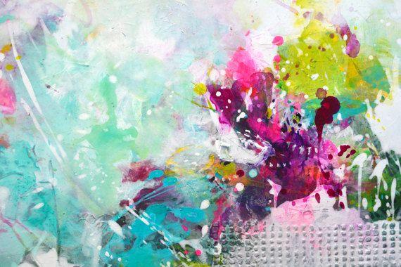 Originele kunst abstract groot schilderij abstracte kunst