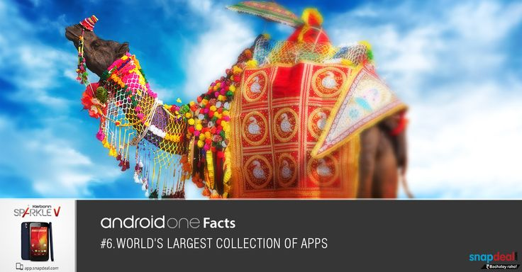 Android One Fact #6. World's largest collection of Apps. Get it here: http://bit.ly/-SparkleV