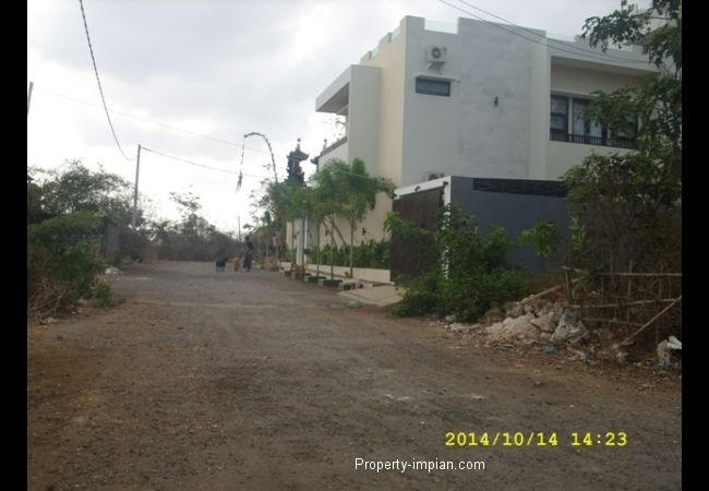 land at comlpex villa Close to Jimbaran Beach
