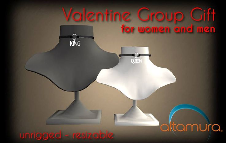 Love is in the air... yes it is true!! Also with Altamura Gifts! For the first time, the Gift is also for our M E N!!  Happy Valentine's Day to you all ❤ ❤ ❤ ❤  Taxi: http://maps.secondlife.com/secondlife/Capodorso/239/63/26