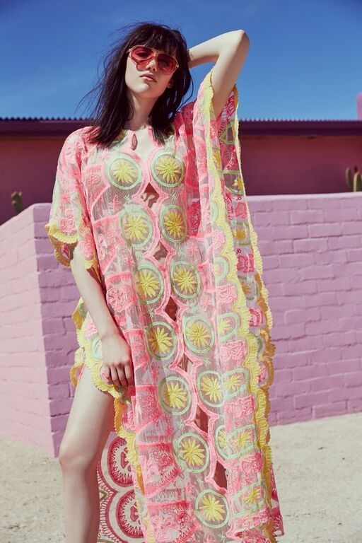 Sometimes you just need to cancel all your plans, throw on a billowy caftan, and go for a carefree frolic in the sun.