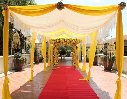 Yellow Wedding Decor   Google Search