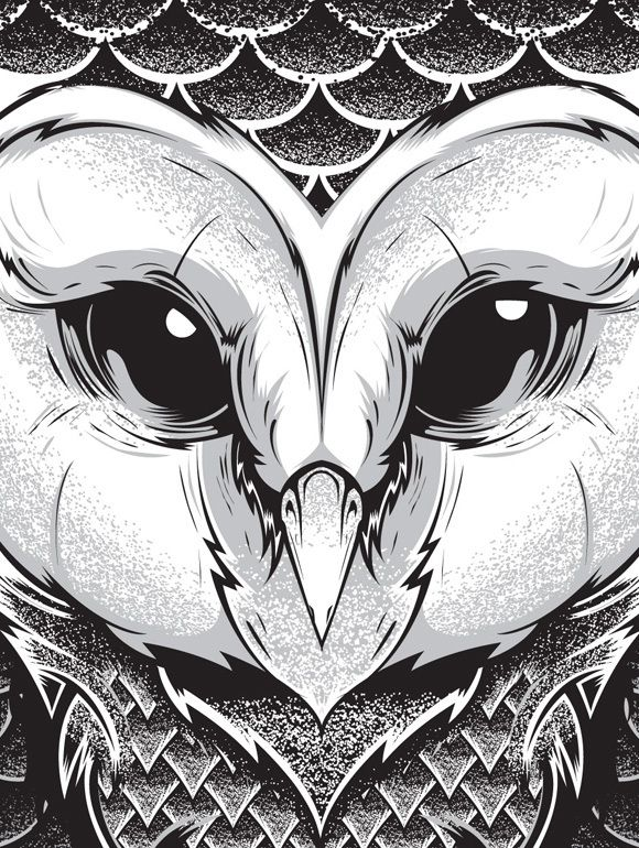 064 - New Illustrations by Joshua M. Smith, via Behance
