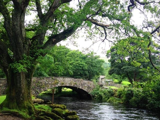Rydal bridge in the Lake District